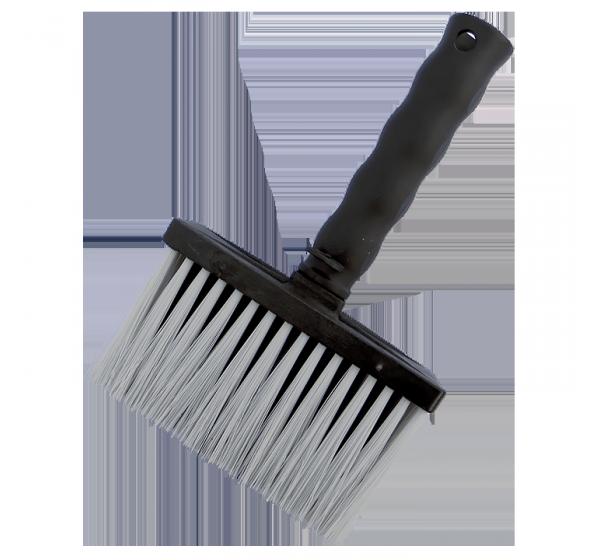 Wall brush 140x50 mm artificial bristle plastic body