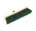 Street broom 40 cm wood base