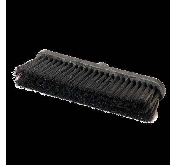 Street broom 27 cm plastic base