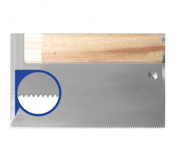 Glue spatula 180*S2 (5 notch)