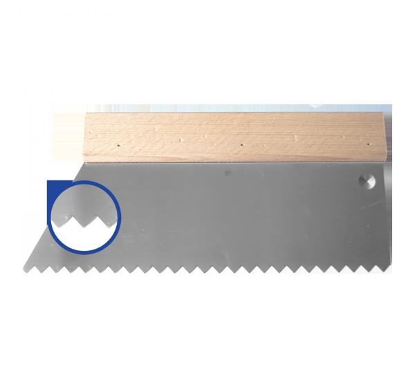 Клеевой шпатель 250*S4 (10 зуб)